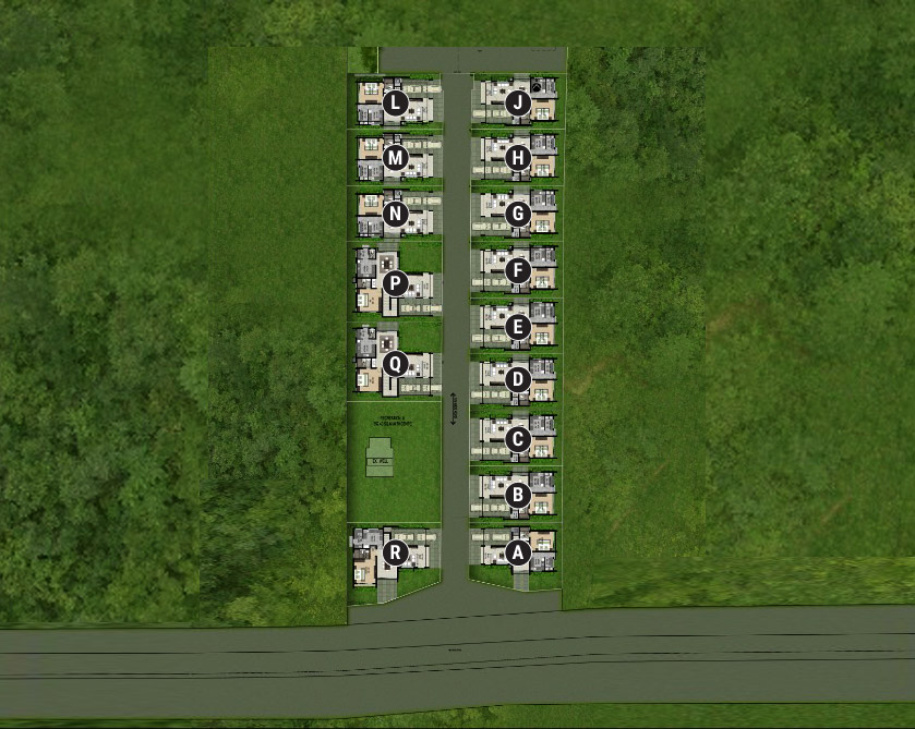 Thrissur Villas Site Plan